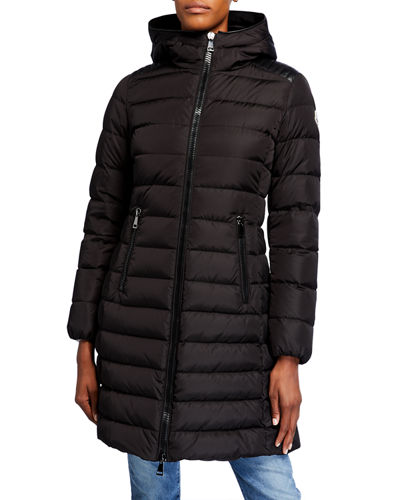 Talev Long Puffer Coat w/ Hood