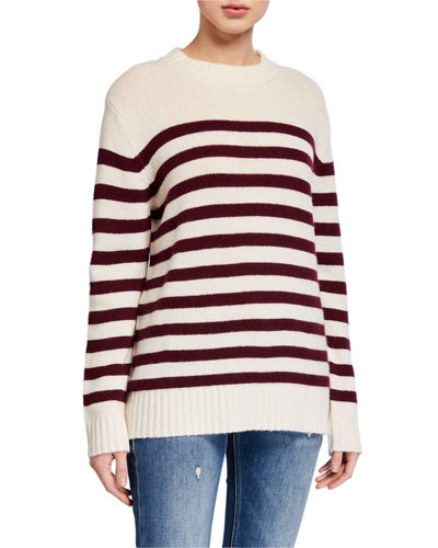 The Marvin Striped Cashmere Sweater