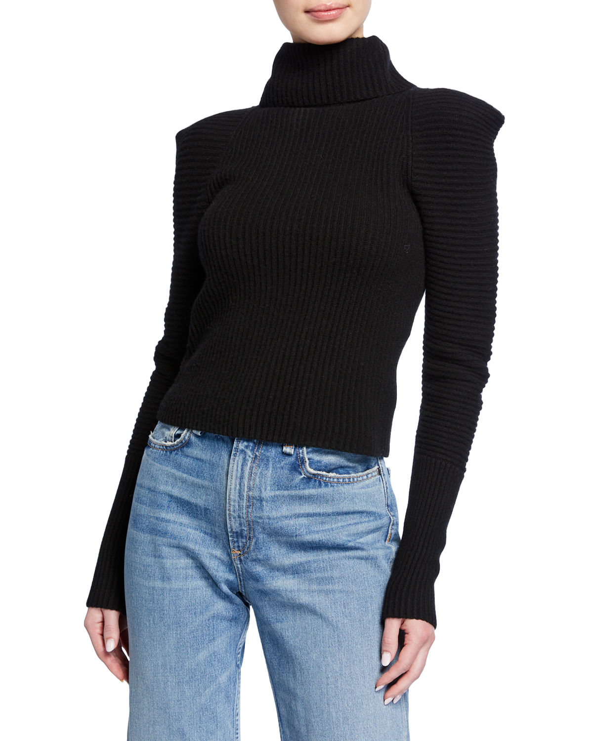 A.l.c Sweaters MAURA RIBBED TURTLENECK SWEATER