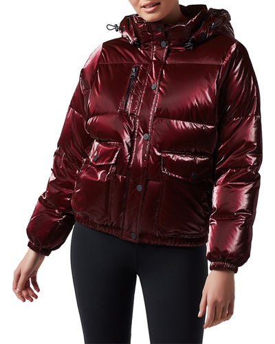 Mont Blanc Hooded Puffer Jacket