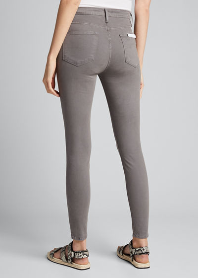 Le High Skinny Sateen Ankle Jeans