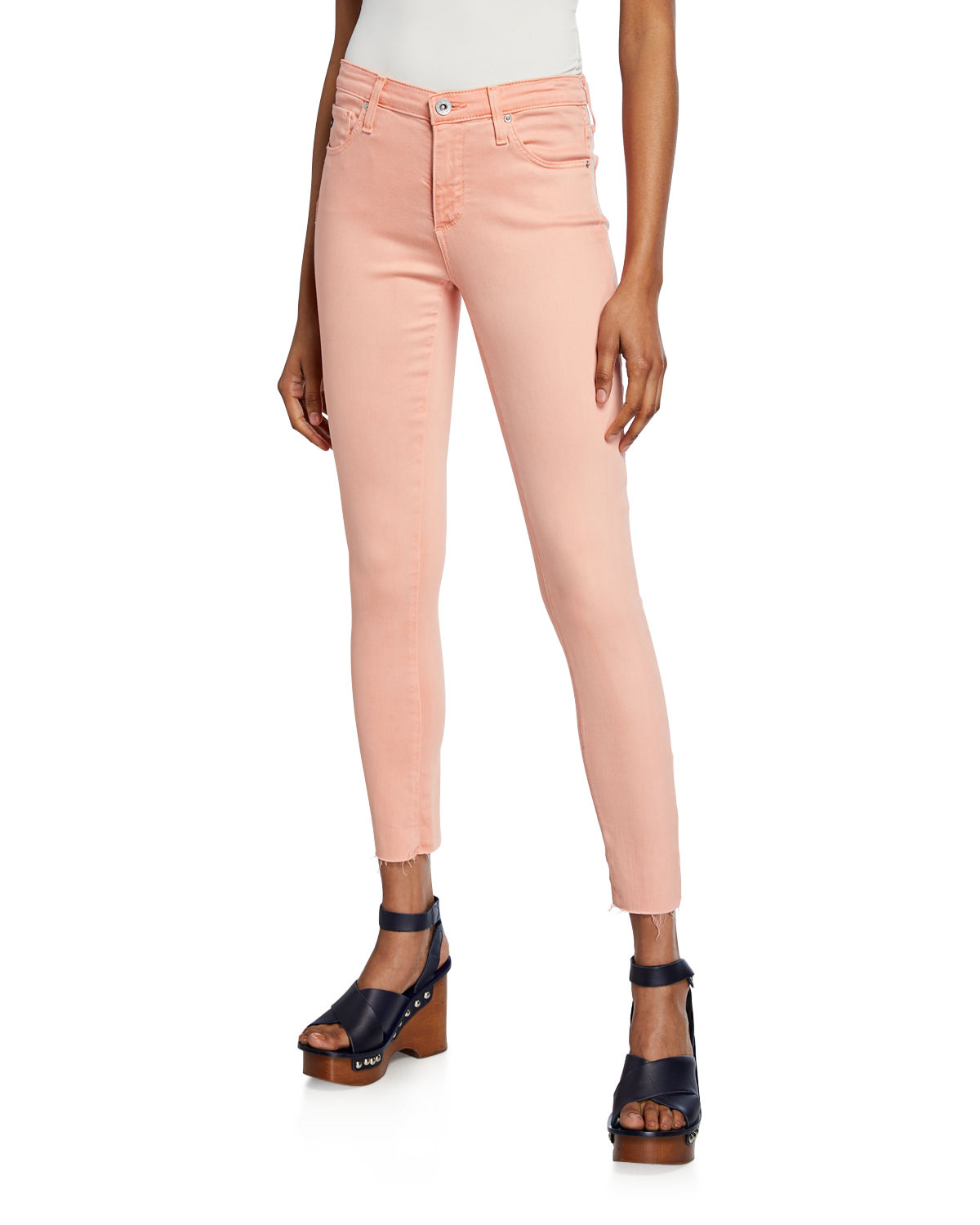 Ag Jeans THE LEGGING ANKLE CROPPED SKINNY JEANS