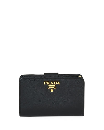 Medium Saffiano Tab Wallet