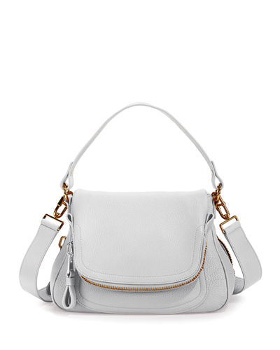 Jennifer Medium Grained Leather Shoulder Bag