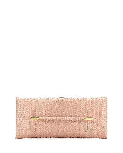 Evening Python Clutch Bag