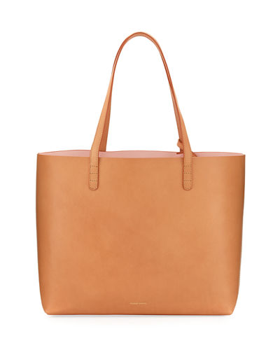 bd2d8a62927d Large Vegetable-Tanned Leather Tote Bag