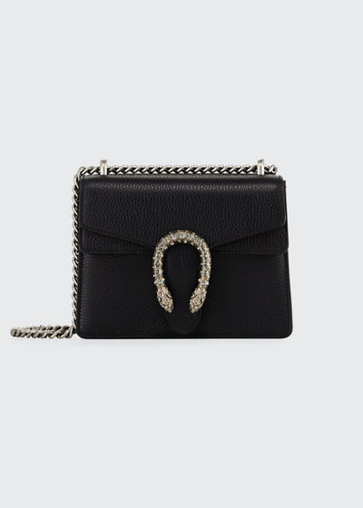Dionysus Leather Crystal Mini Bag