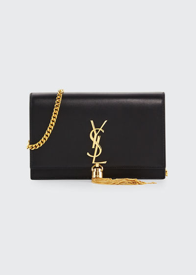 Saint Laurent Kate Monogram YSL Tassel Chain Wallet cb23e73744a73