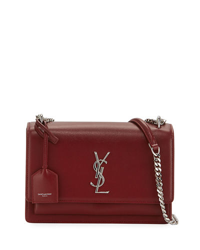 Saint Laurent Sunset Medium Monogram YSL Crossbody Bag