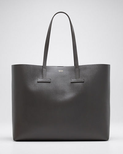 Saffiano Large Leather T Tote Bag