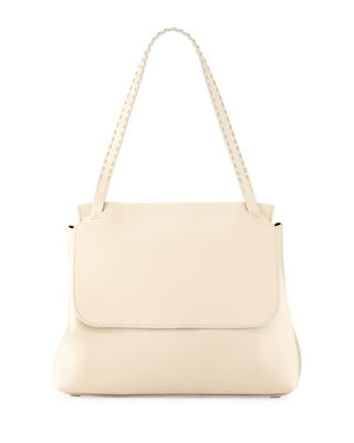 Sidekick Textured-leather Shoulder Bag - Ivory The Row