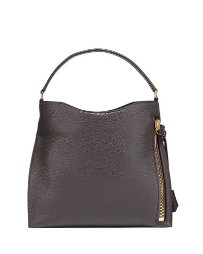 Alix Small Calfskin Hobo Bag