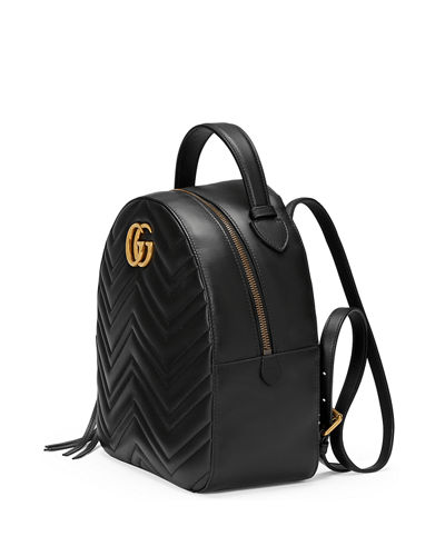 cecb399dc484 Gucci GG Marmont Quilted Leather Backpack
