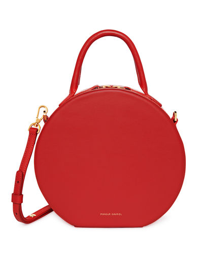 45ae64e2a Leather Circle Crossbody Bag Quick Look. RED. Mansur Gavriel