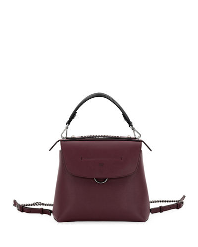 Back to School Leather Backpack/Crossbody Bag