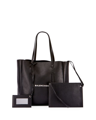Balenciaga Everyday Small Leather Logo Tote Bag
