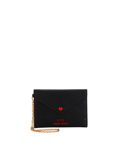 Madras Love Envelope Clutch Bag