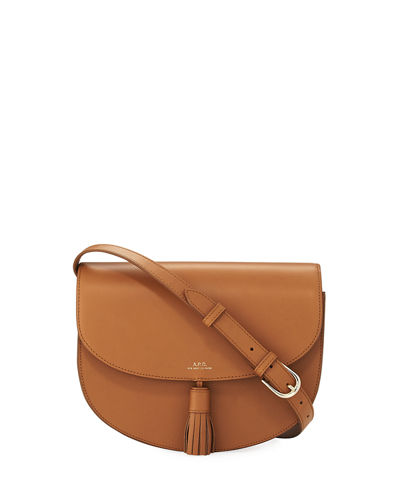 Diane Leather Saddle Bag