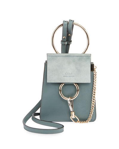 Faye Small Leather Bracelet Bag