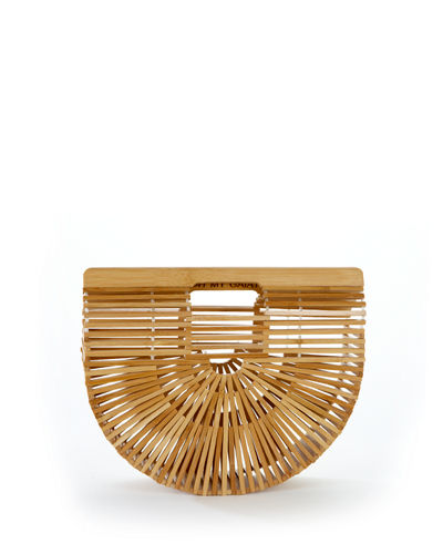 Gaia's Ark Small Bamboo Clutch Bag