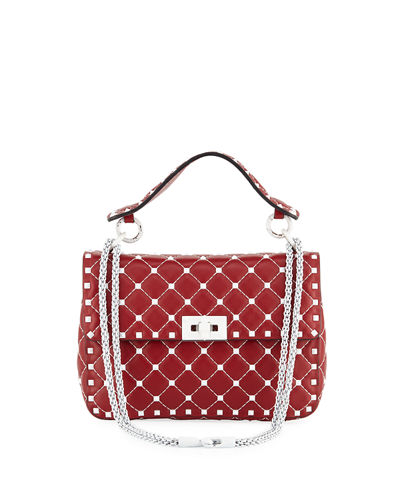 Free Rockstud Spike Medium Quilted Top-Handle Bag