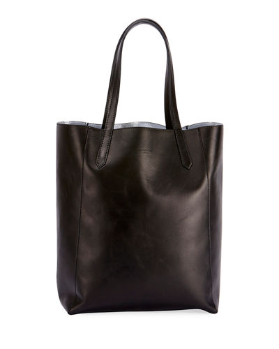 Neo Stargate Small Leather Tote Bag