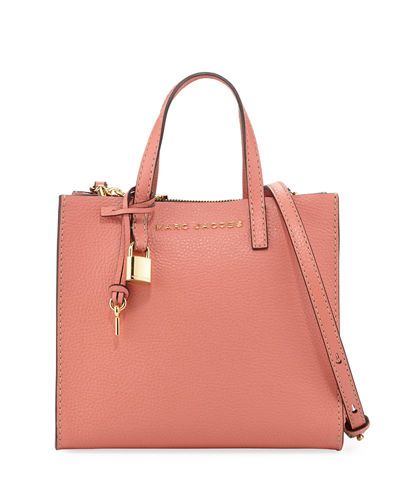 Grind Mini Pebbled Shopper Satchel Bag