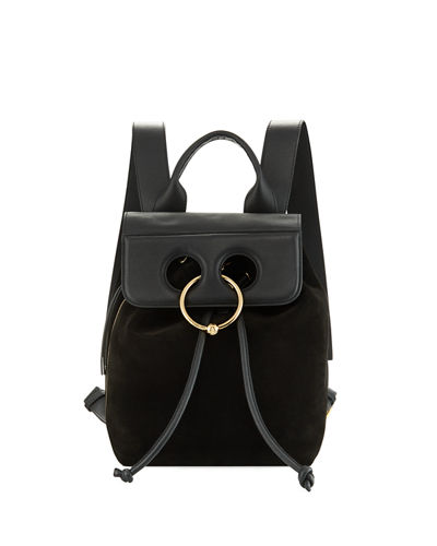 Pierce Mini Leather Backpack