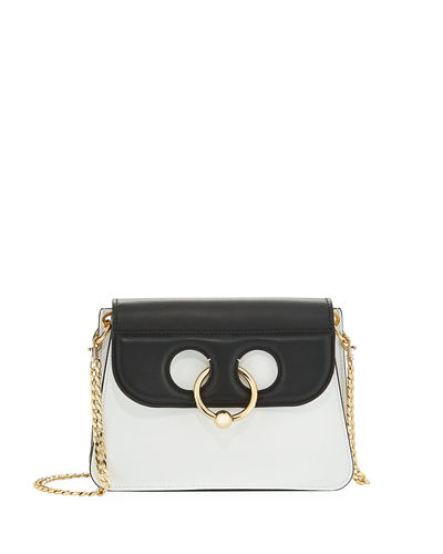 Mini Pierce Calf Leather Shoulder Bag