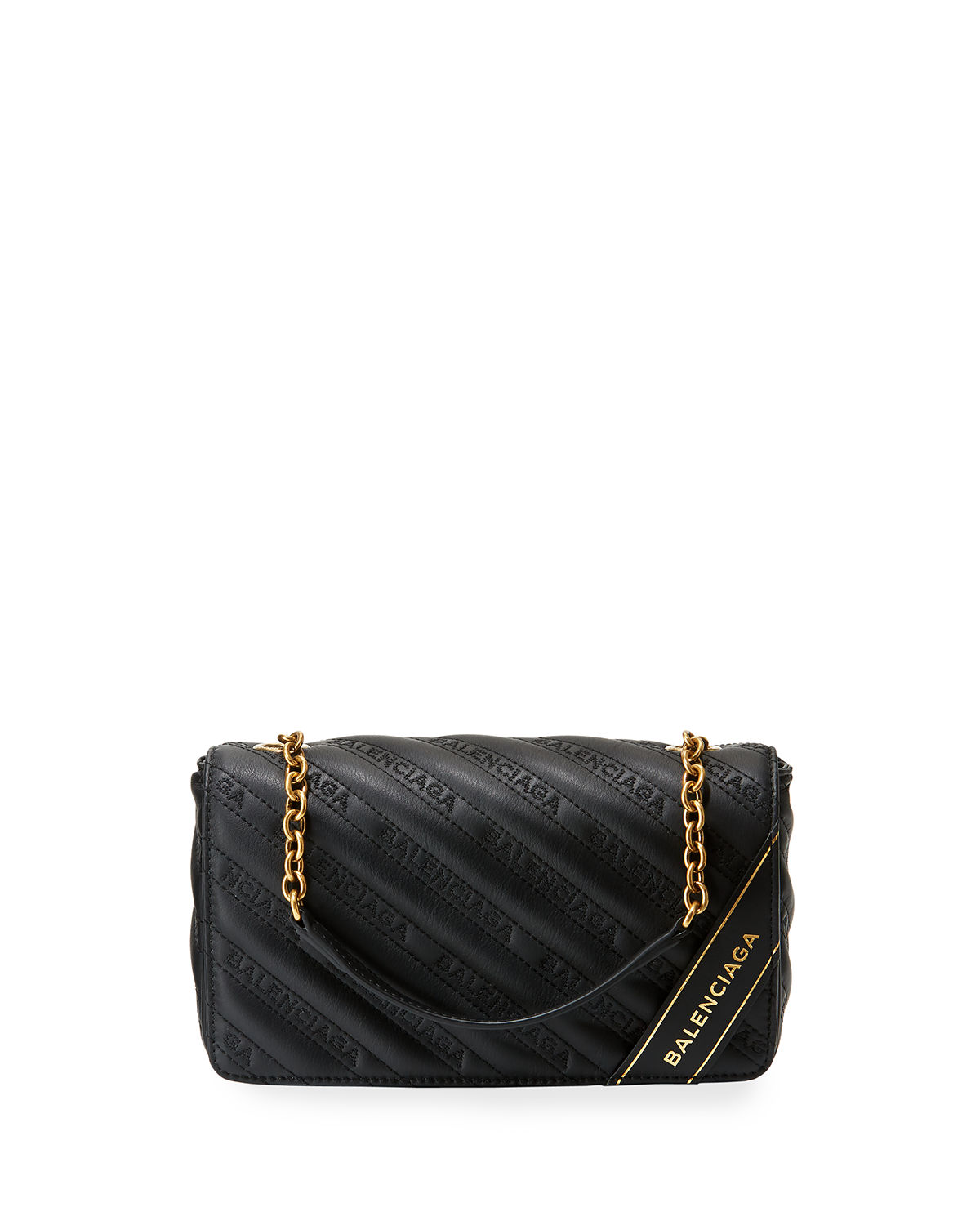 Blanket Chain Quilted Wallet