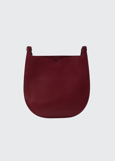 Textured Small Hobo Bag