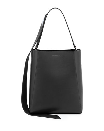 Calf Leather Bucket Bag