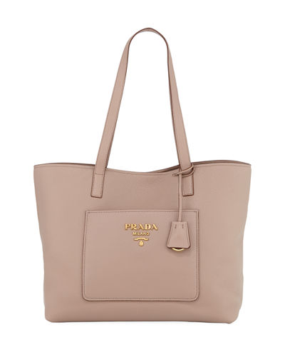 Prada Large Daino Shopper Tote Bag