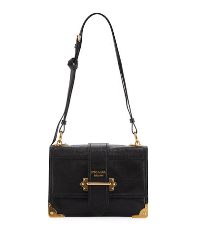 Large Grace Calf Trunk Shoulder Bag