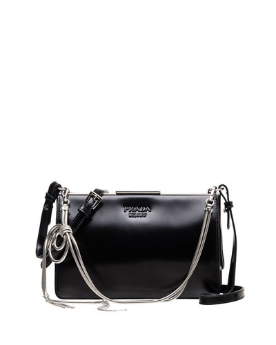 Small Leather Frame Crossbody Bag
