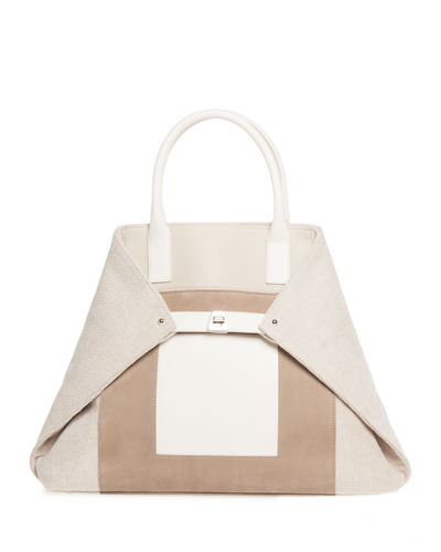 Ai Medium Superstripe Top-Handle Bag