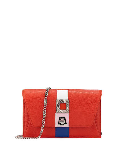 Anouk Superstripe Patchwork Envelope Shoulder Bag