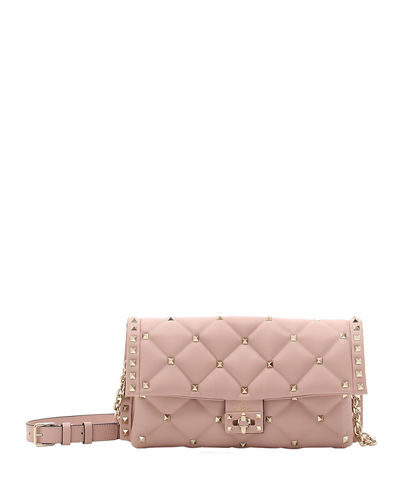 CandyStud Small Quilted Shoulder Bag