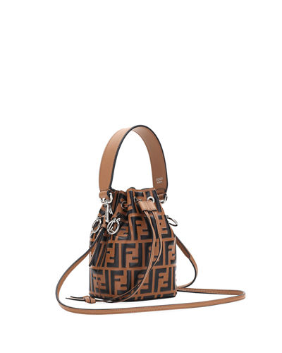 Fendi Mon Tresor Small FF Bucket Bag 7bfa79c4fb858