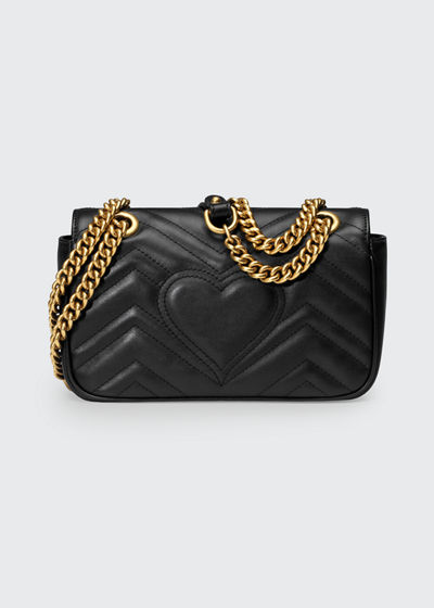 4da33c90d617 Gucci GG Marmont 2.0 Mini Matelassé Shoulder Bag
