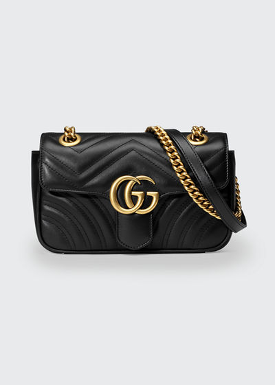 67c7e605b58aa8 Gucci GG Marmont 2.0 Mini Matelassé Shoulder Bag