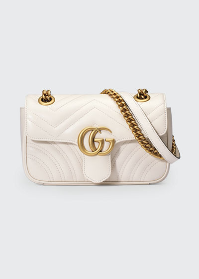 GG Marmont 2.0 Mini Matelassé Shoulder Bag