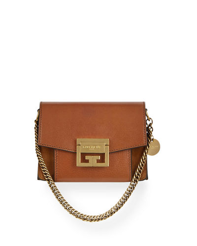 Mini GV3 Goatskin Crossbody Bag