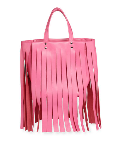 Laundry Cabas XS Fringe Satchel Bag