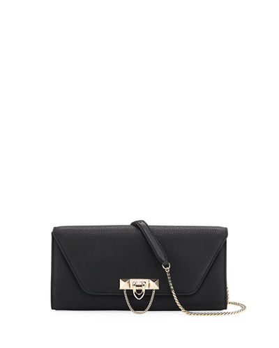 Demilune Rockstud Chain Clutch Bag