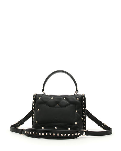 CandyStud Medium Top-Handle Bag