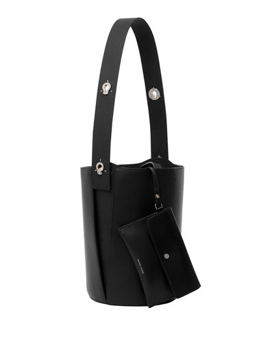 Mini Lorna Colorblock Leather Hobo Bag