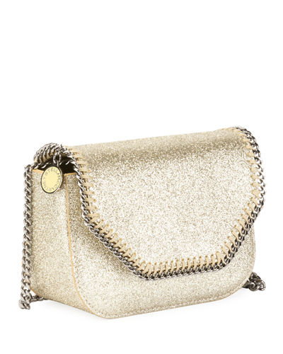 Falabella Mini Glitter Box Bag
