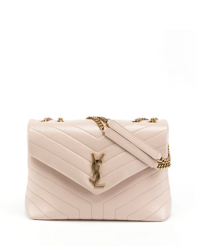 4e22835211f Loulou Monogram YSL Medium Quilted V-Flap Chain Shoulder Bag Quick Look. Saint  Laurent