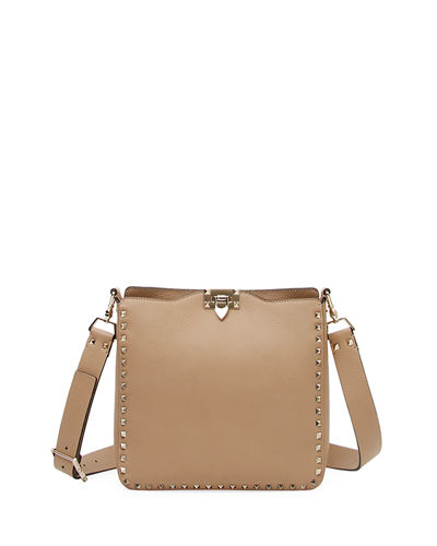 Rockstud Small Vitello Leather Hobo Bag 6a14a8ee0456c